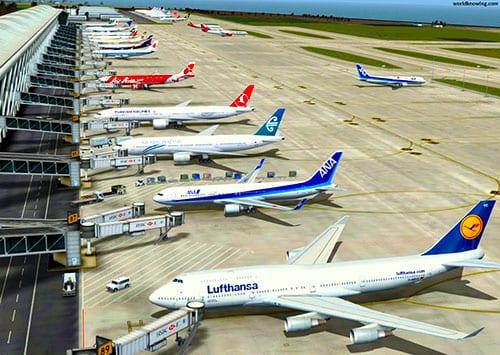 بزرگترین فرودگاه دنیا