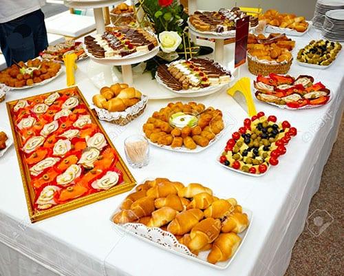 نمونه میز پیش غذا