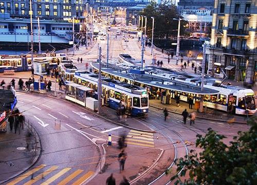 هزینه حمل نقل داخل شهری در شهرهای لهستان