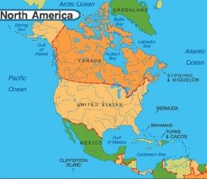 قاره آمریکا