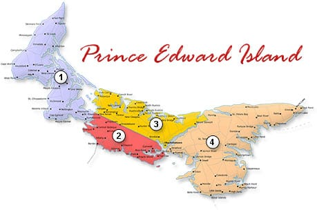 جزیره پرنس ادوارد کانادا